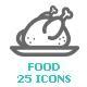 Food Mini Icon - GraphicRiver Item for Sale