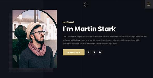 Stark - Personal Portfolio Template