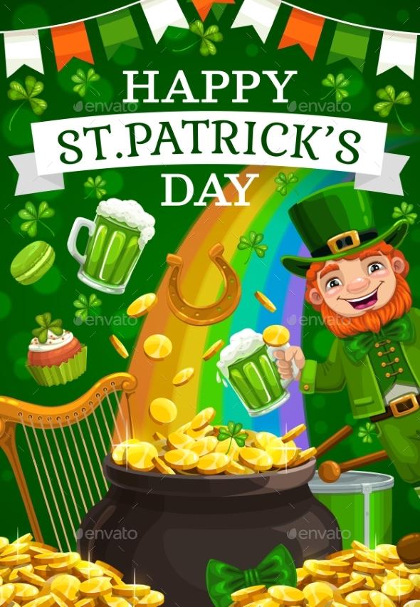 Leprechaun Celebrate St. Patricks Day