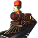 NIGHT TRAIN 3D MODELING - 3DOcean Item for Sale