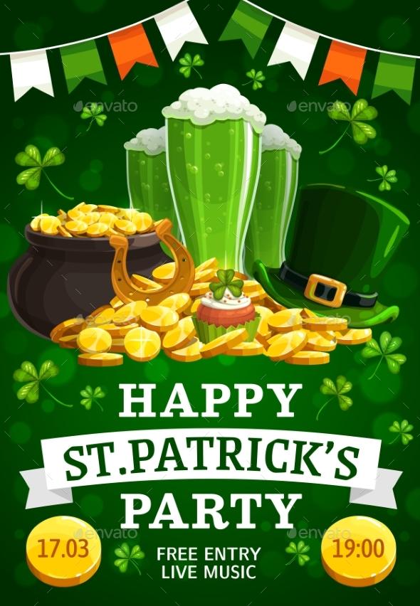 Invitation on St. Patricks Feast