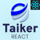 Taiker - React Next IT Startups & SEO Agency Template