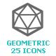 Geometric Shapes Mini Icon - GraphicRiver Item for Sale