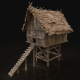 Next Gen Cote Hovel Chicken Coop Cage - 3DOcean Item for Sale