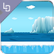 Antartic run - Game Background - GraphicRiver Item for Sale
