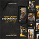 Outdoor Instagram Template - GraphicRiver Item for Sale