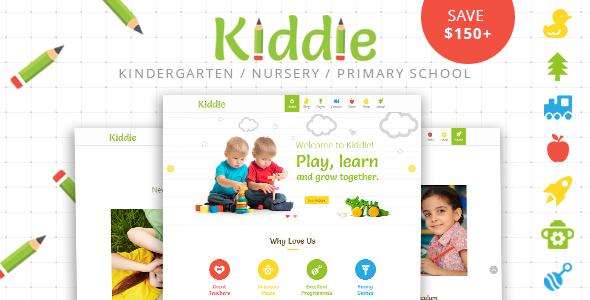 Kiddie - Kindergarten WordPress Theme