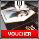 Barbershop Gift Voucher - GraphicRiver Item for Sale