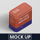 Tin Can Mockup Rectangle - GraphicRiver Item for Sale