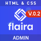 Flaira –  Bootstrap HTML Admin Template - ThemeForest Item for Sale