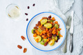 Roasted brussels sprouts honey pumpkin pecan salad - PhotoDune Item for Sale