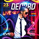 Guest DJ Party Square Flyer vol.3 - GraphicRiver Item for Sale