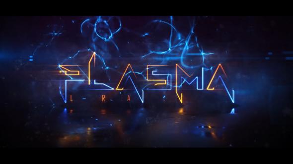 Plasma Logo Reveal