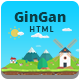 GinGan - Bootstrap Landing Page Template - ThemeForest Item for Sale