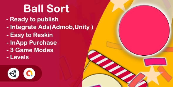 Ball Sort - Color Bubble Sort Puzzle (Unity Complete + Admob + Unity Ads+iOS+Android) Download