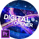 Digital Holographic Opener for Premiere Pro - VideoHive Item for Sale