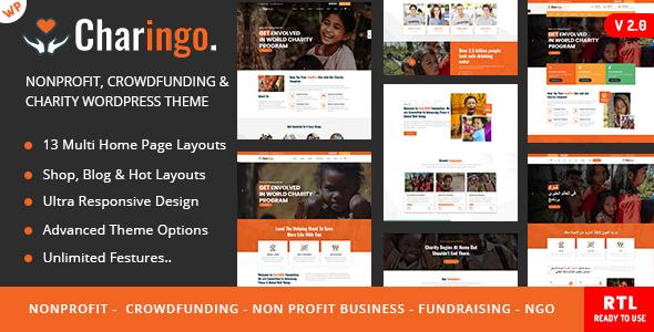 Charingo - Charity WP