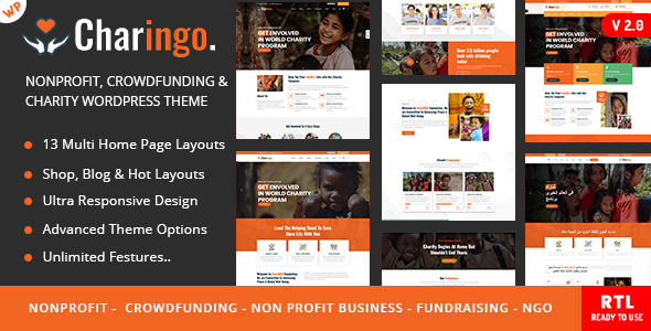 Nonprofit Charity WP