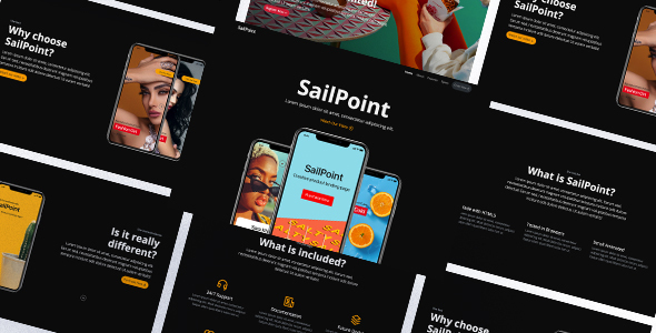 SailPoint   HTML Product Landing Page