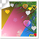 Valentines Backgrounds - 5 clips with Luma Matte - VideoHive Item for Sale