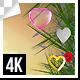 Valentines Day Decorative Frame 4k - VideoHive Item for Sale