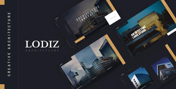 Lodiz - Creative Architecture HTML Template