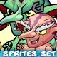 6 Goblins Game Sprites Set - GraphicRiver Item for Sale