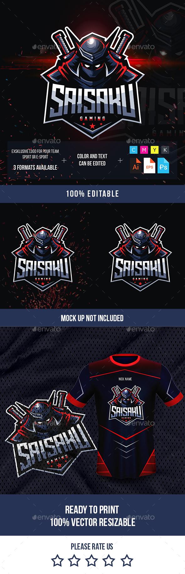 Ninja Logo for Games
