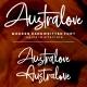 Australove - Modern Handwritten - GraphicRiver Item for Sale