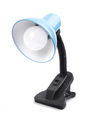 Blue table lamp on a clamp - PhotoDune Item for Sale