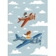 Airplanes and Children - GraphicRiver Item for Sale