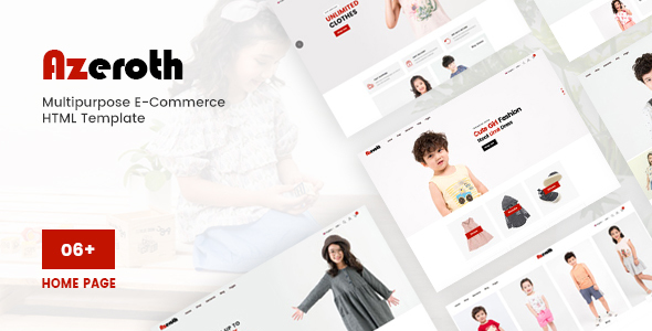 Azeroth - Multipurpose E-commerce HTML Template