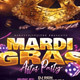 Mardi Gras After Party Flyer Template - GraphicRiver Item for Sale