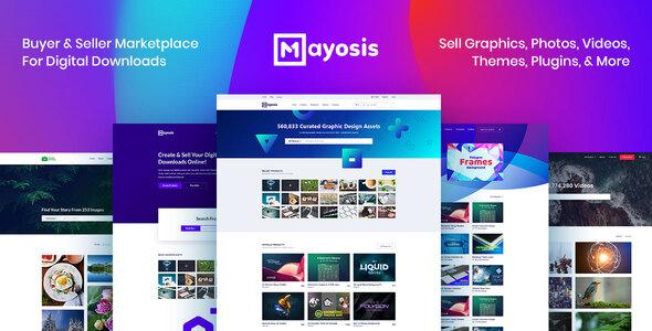 Mayosis - Digital Marketplace WordPress Theme