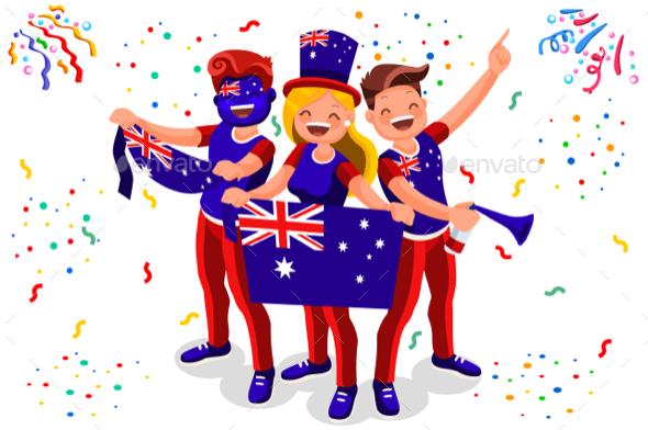 Australia Football Fans