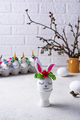 Easter eggs in shape of bunny - PhotoDune Item for Sale