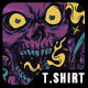 Skull High T-Shirt Design - GraphicRiver Item for Sale