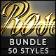 50 Text Effects - Bundle Vol. 09 - GraphicRiver Item for Sale