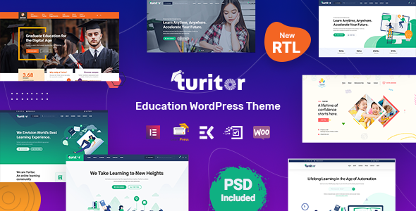 Turitor - Education WordPress Theme