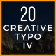Creative Typo IV - VideoHive Item for Sale