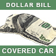 Car Covered with Draped Dollar Bill Cloth. Money Textile Covers Automobile - GraphicRiver Item for Sale