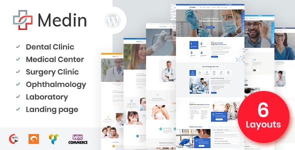 Medin - Medical Center WordPress Theme