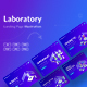 Laboratory - Landing Page Illustration Template - GraphicRiver Item for Sale