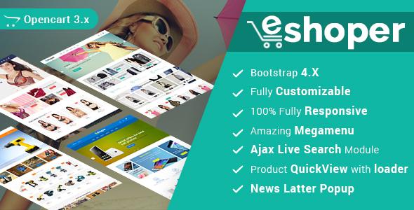 Eshoper - Multipurpose Best Opencart 3 Theme 1