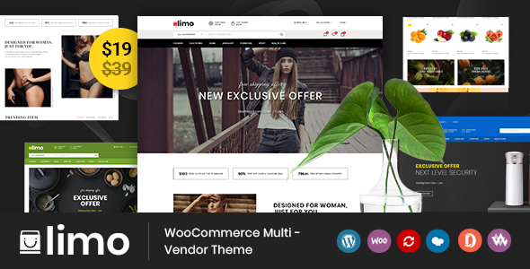 Limo - Multipurpose WooCommerce Theme
