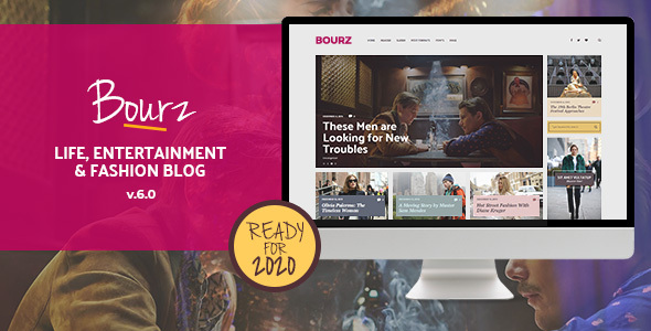 Bourz: Life, Entertainment & Fashion Blog Theme