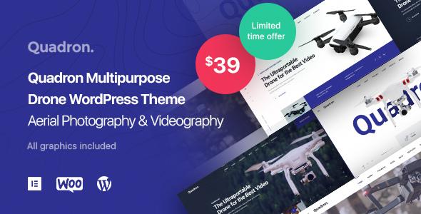 Quadron   Multipurpose Drone WordPress Theme