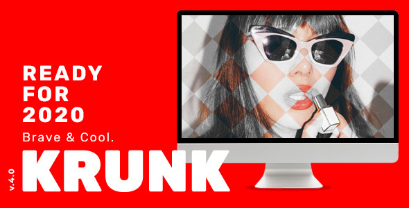 Krunk - Brave & Cool WordPress Blog Theme