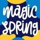 Magic Spring - GraphicRiver Item for Sale
