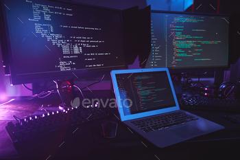 Programming Equipment in Dark
